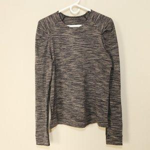 Lululemon Long Sleeve Sweatshirt Top Gray 6 8 Sm